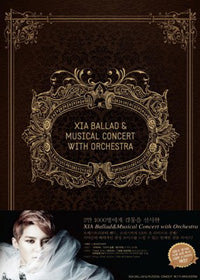 Used XIA Ballad & Musical Concert 3 Disc Limited Edition