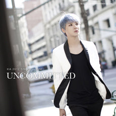 Used XIA Uncommitted English Single Album CD Photobook