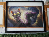 Cheshire Cat Finished Diamond Artwork