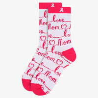 Handwritten Notes to Mom Sock