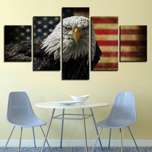 5 Panel American Eagle Canvas