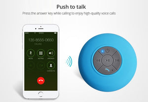 Useful Gift:Bluetooth Waterproof Shower Speaker