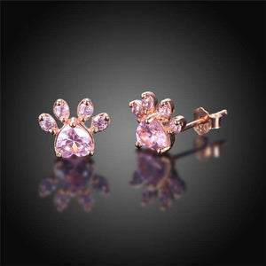 Useful Gift:Adorable Luxury Paw Earrings Gift Ideas Gifts
