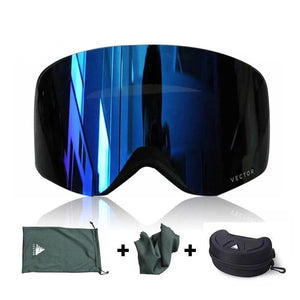 Ski & Snowboard Anti-Fog Over The Glasses Goggles