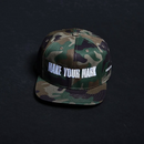 Make Your Mark Camo - Snapback