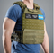 Tactical vektvest Green