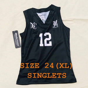 Basketball Singlet ~ Size 24 (XL)