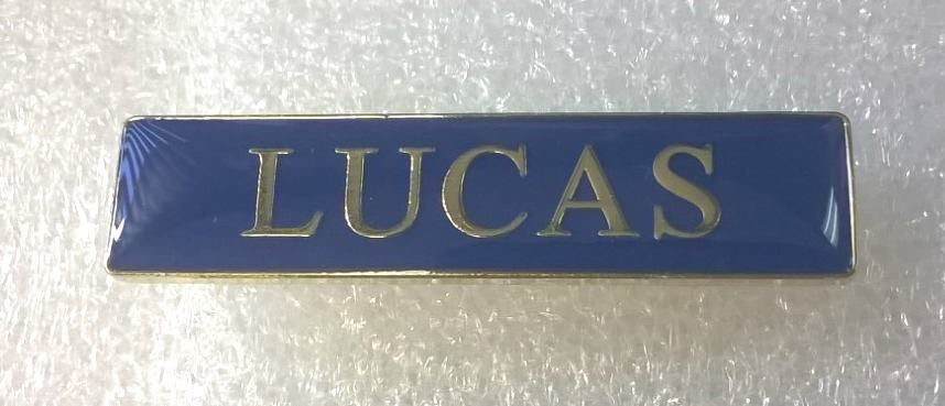 Badge - Lucas