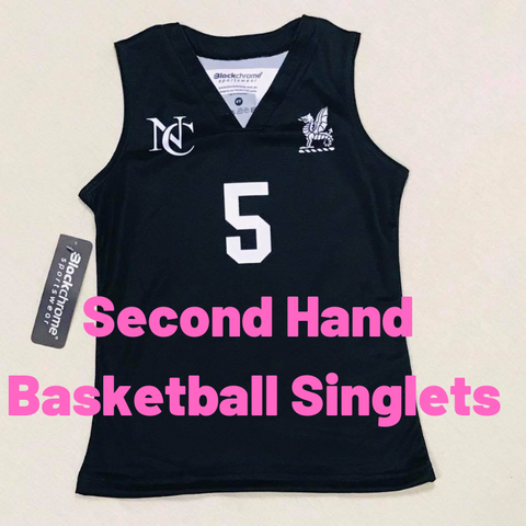 Second Hand - Basketball Singlets