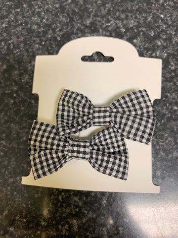 ELC Bow Mini Gingham