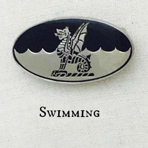 Badge - Swimming