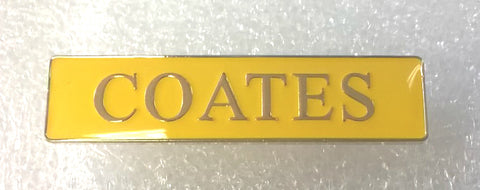 Badge - Coates
