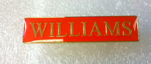 Badge - Williams