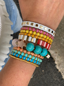 The minis colorful stack