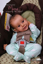 Load image into Gallery viewer, SUPER SALE Biracial Prototype Minya by Ina Volprich Reborn Baby Boy Doll - Reborn, Sweet Shaylen Maxwell iiora 2016-2019
