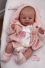Load image into Gallery viewer, PROTOTYPE Oakley by Sandrien Faber Reborn Baby Girl Doll - Reborn, Sweet Shaylen Maxwell iiora 2016-2020