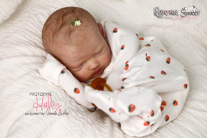 PROTOTYPE Haley by Bonnie Sieben Reborn Baby Girl Doll - Reborn, Sweet Shaylen Maxwell iiora 2016-2019