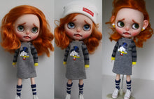 Load image into Gallery viewer, Resell Custom Blythe by BestDressedBlythe - with lots of outfits - 2019