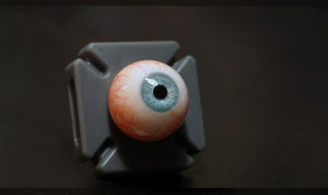 Blue Velvet 24mm Camera Ready Glass Eyes from Fourth Seal