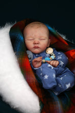 Load image into Gallery viewer, PROTOTYPE Polina by Bonnie Sieben Reborn Baby Boy Doll - Reborn, Sweet Shaylen Maxwell iiora 2016-2019