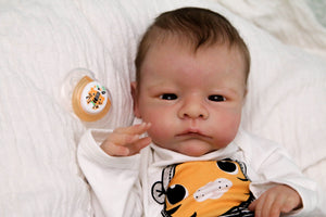 "READY TO SHIP ""River"" by Toby Morgan Reborn Baby Boy Doll - Reborn, Sweet Shaylen Maxwell iiora 2016-2019"