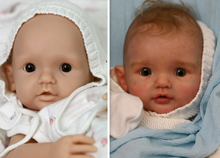 Load image into Gallery viewer, PROTOTYPE Tilda by Didy Jacobsen Reborn Cuddle Baby Boy/Girl Doll - Reborn, Sweet Shaylen Maxwell iiora 2016-2019