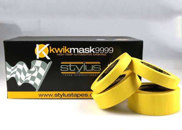 KWIKMASK 9999 YELLOW 24MM X 50M