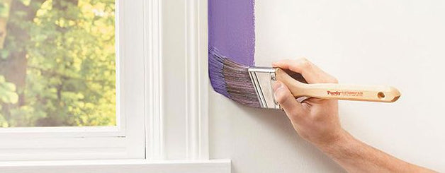 How to paint with roller