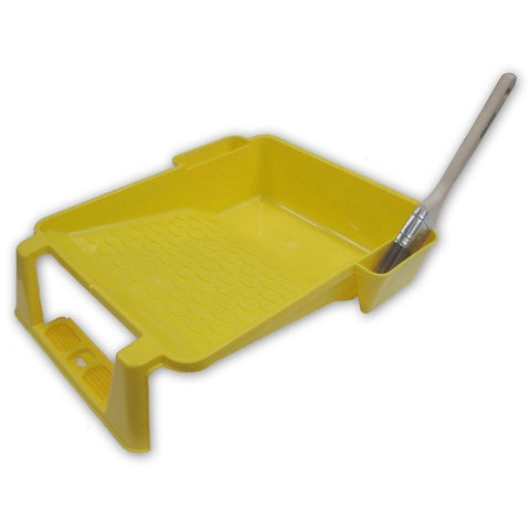 Uni-Pro 230mm Roller tray with Paint brush holders