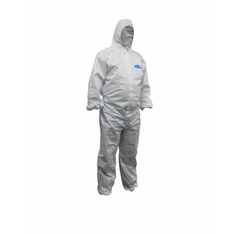 Maxisafe KoolGuard White Laminated Coveralls-Protection-PaintAccess.com.au