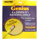 "Uni-Pro Genius Turbo Sand Discs 6 x 230mm (9"")-Sanding Equipment-PaintAccess.com.au"