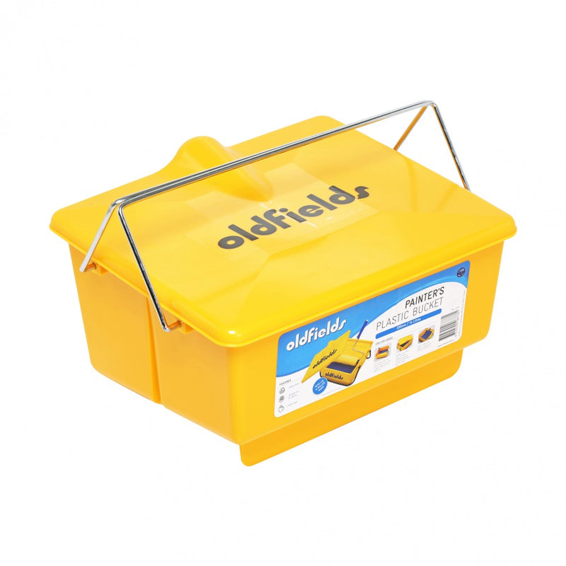 Oldfields 330mm Strong Plastic Bucket with Lid (6 Buckets) - BULK SPECIAL - 20% OFF-Tray-PaintAccess.com.au
