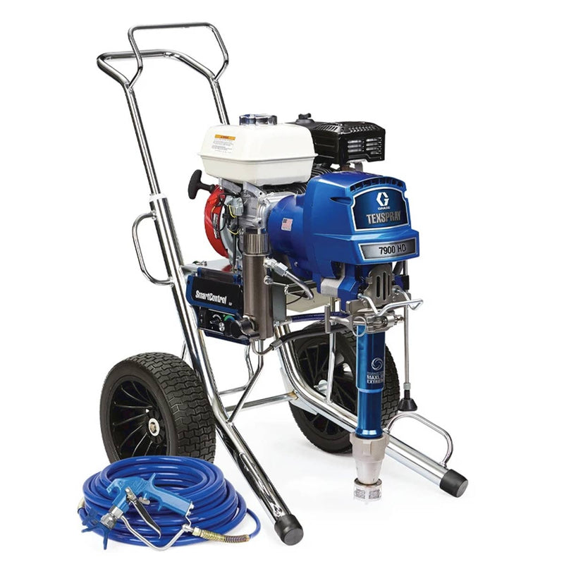 GRACO TexSpray 7900 HD IronMan Series Petrol Airless Sprayer Range 17E843