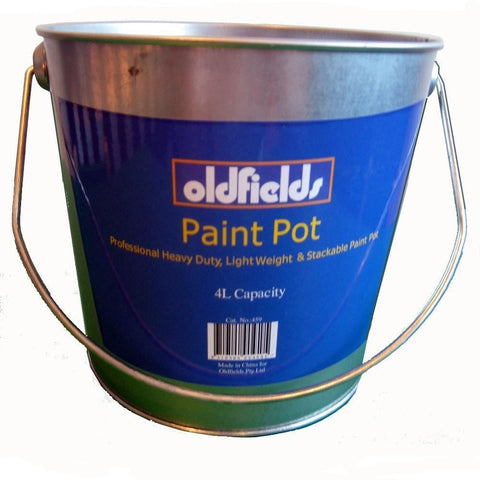 Oldfields Metal Paint Pot 4L