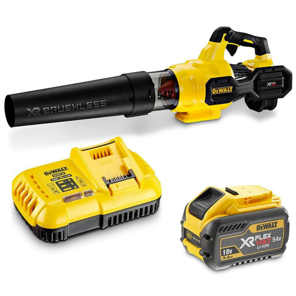 DeWalt 54V XR FLEXVOLT Axial Blower Kit - 9.0Ah - DEWDCMBA572X1-XE