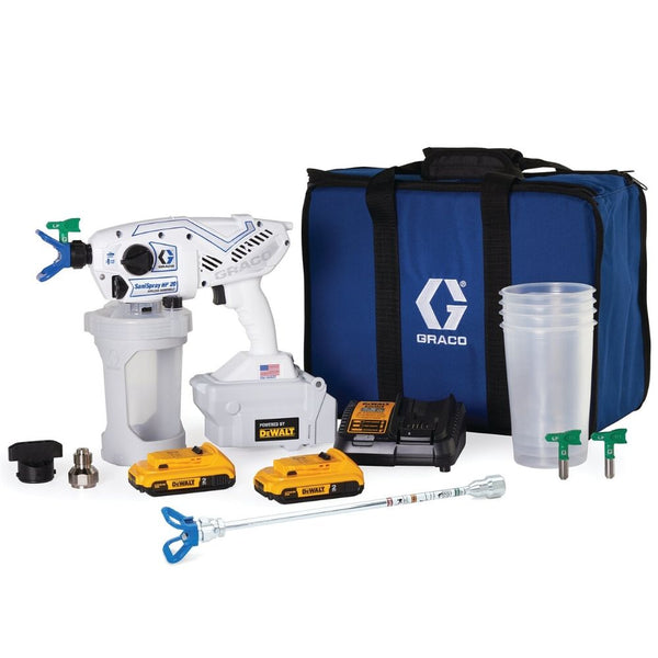Graco SaniSpray HP 20 Cordless Handheld Airless Disinfectant Sprayer-Sanispray-PaintAccess.com.au