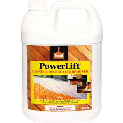 Flood Powerlift Deck Stain Remover 1 Litre Cover 7 12 Square Meters