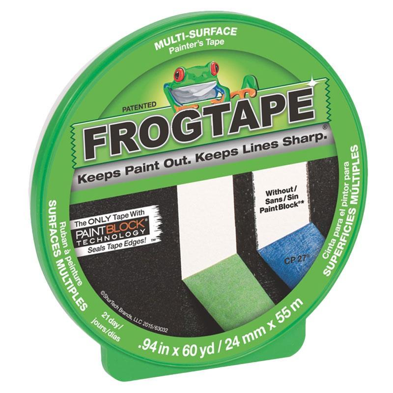 Frog Tape Multi-Surface 24mm x 55m Green Painter's Tape-Masking tape-PaintAccess.com.au