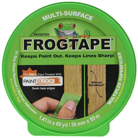 Frog Tape Multi-Surface 36mm x 55m Green Painter's Tape