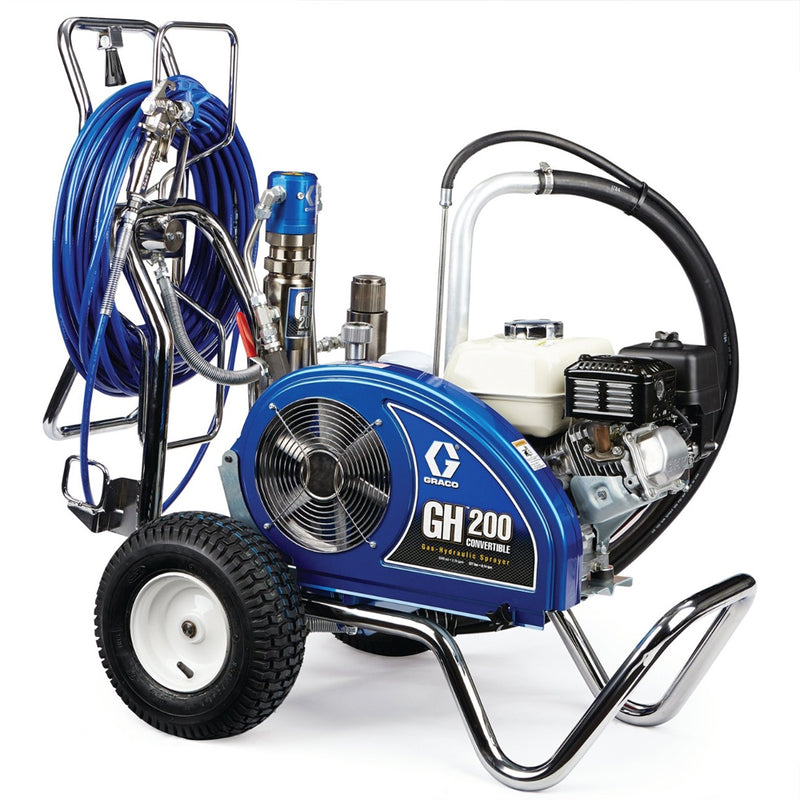 GRACO GH 200 ProContractor Petrol Hydraulic Airless Paint Sprayer 24W927