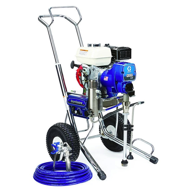 GRACO GMAX 3400 Petrol Driven Airless Paint Sprayer Package