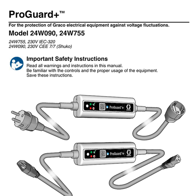 GRACO Proguard + Electrical Surge Protection 24W755
