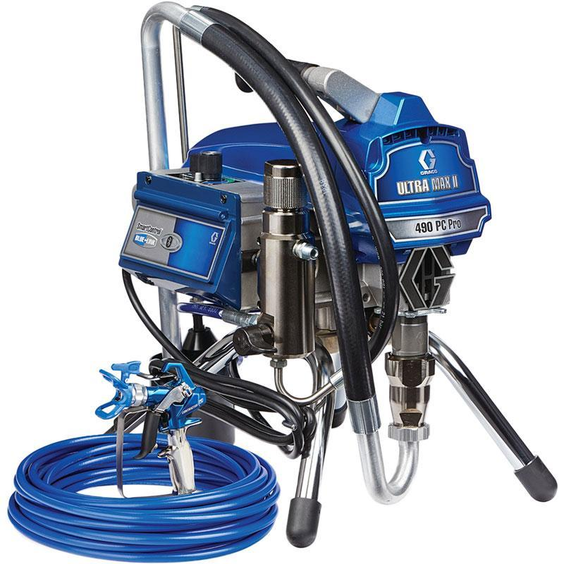 Graco Ultra Max II 490PC Pro Stand Unit Electric Powered Airless Sprayer-Spray-PaintAccess.com.au