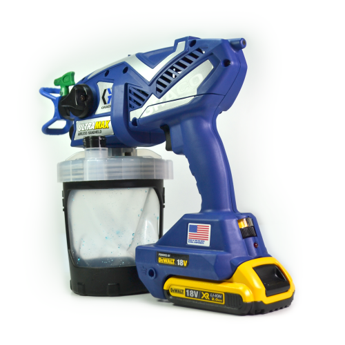 Graco Ultra MAX Cordless Airless Handheld Sprayer with DeWalt Battery 17N225 Water and Oil Based Paints-Spray-PaintAccess.com.au