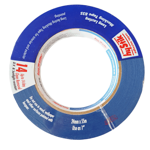 Hystik Blue 14 day Masking Tape 24mm x 55m