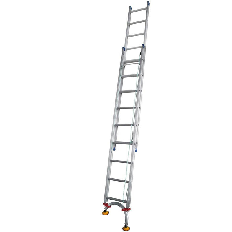 INDALEX Level Arc 3.2-5.3m 180kg Pro Series Aluminium Extension Ladder-Ladder-PaintAccess.com.au