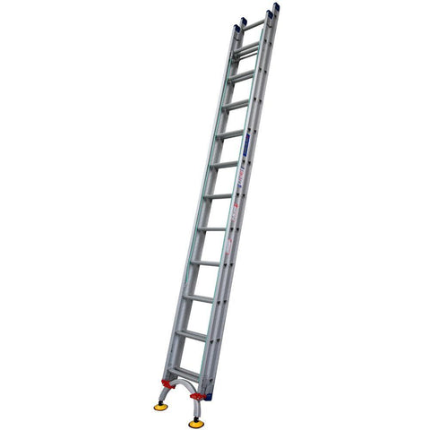 INDALEX Level Arc 3.8-6.6m 180kg Pro Series Aluminium Extension Ladder