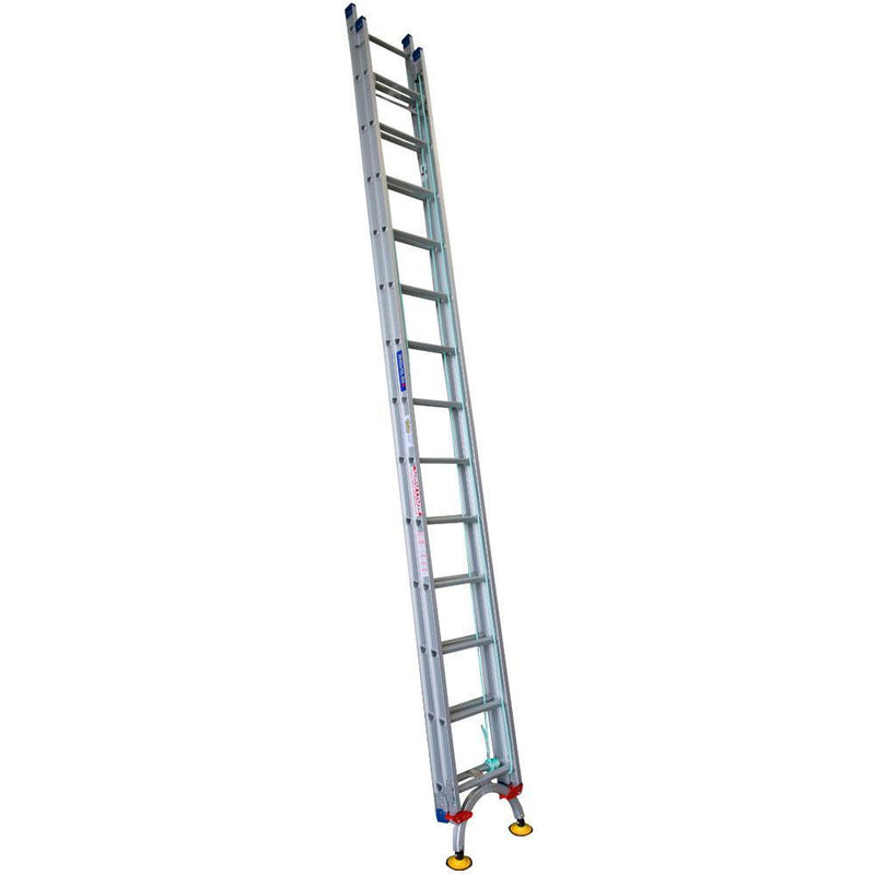 INDALEX Level Arc 4.4-7.8m 150kg Pro Series Aluminium Extension Ladder-Ladder-PaintAccess.com.au