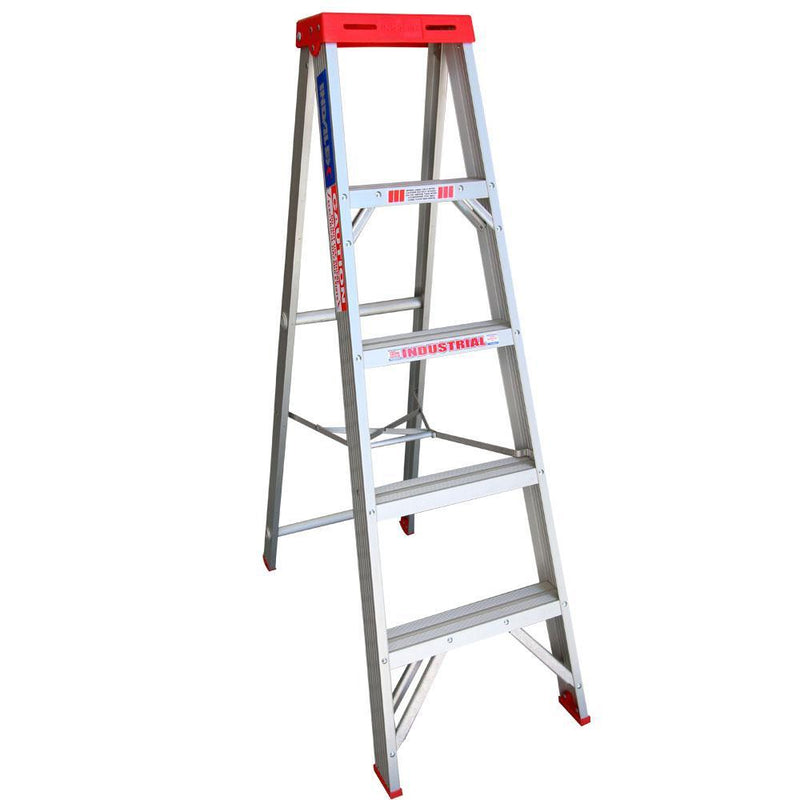 INDALEX 1.5m 135kg Tradesman Single-Sided Aluminium Step Ladders-Ladder-PaintAccess.com.au