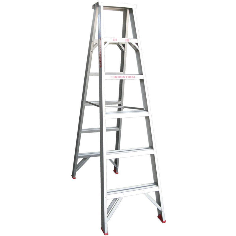 INDALEX 1.8m 135kg Tradesman Double-Sided Aluminium Step Ladder-Ladder-PaintAccess.com.au